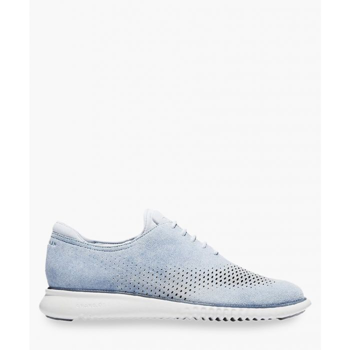 Image for Mens blue Oxford shoes