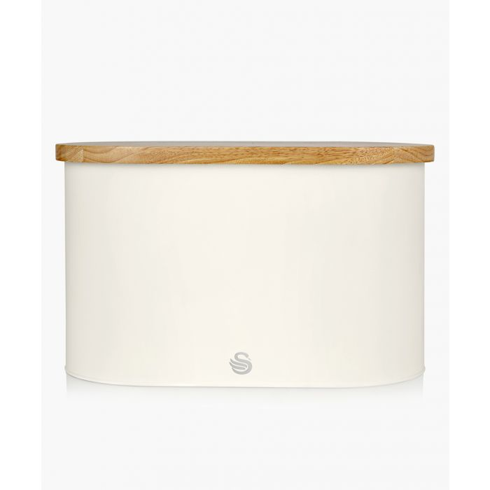 Image for Wooden lid bread bin