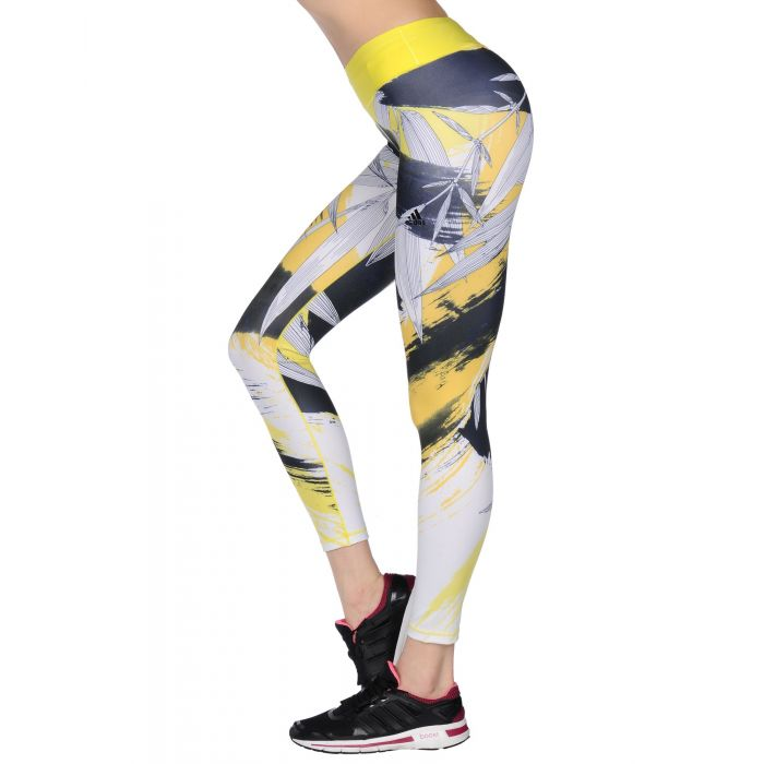Image for Adidas Yellow Recycled polyester Leggings