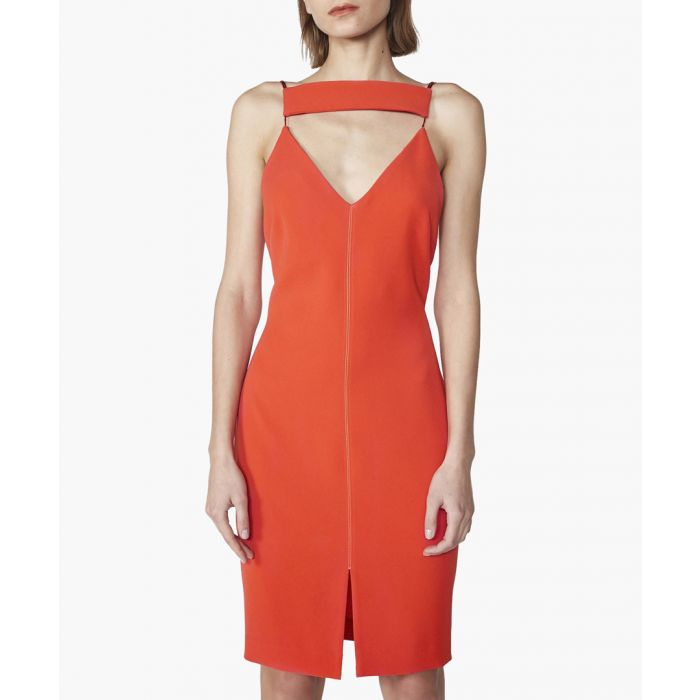Image for Tooley orange dress
