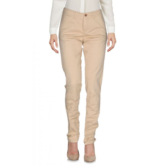 Image for Ocher cotton casual trousers