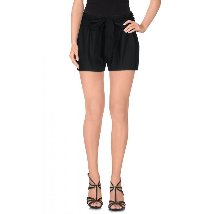 Image for Pink Bow Woman Black Shorts
