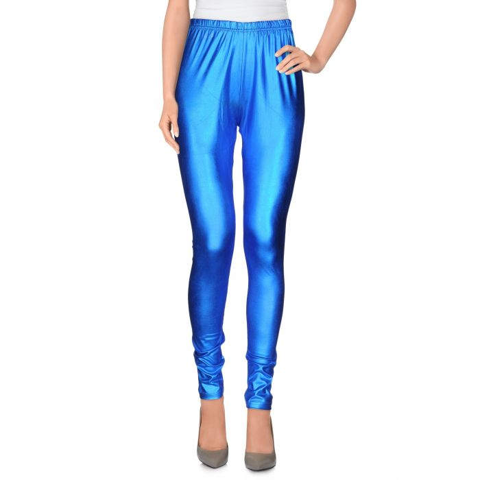 Image for Blue high-waisted leggings