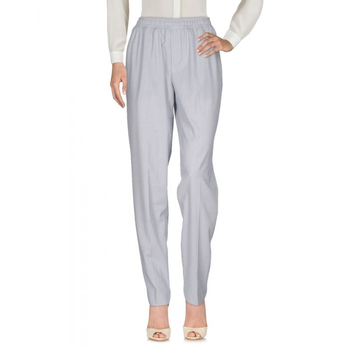 Image for Slate blue cotton casual trousers