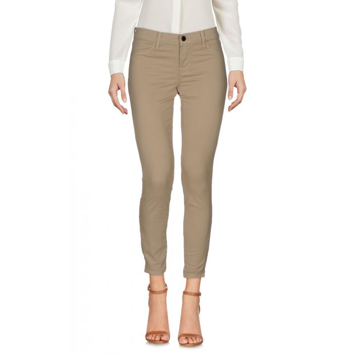 Image for Sand cotton casual trousers