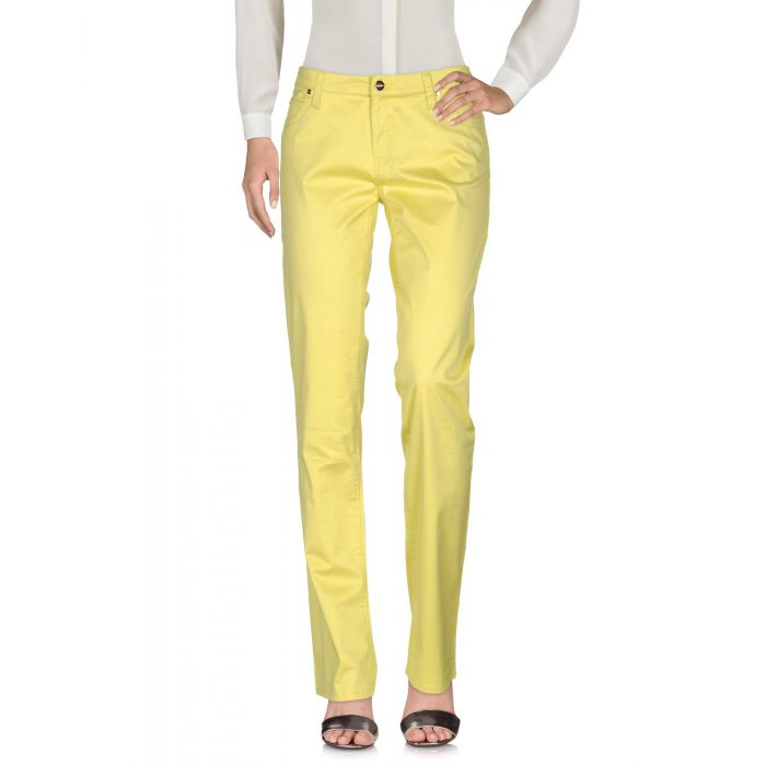 Image for Who*S Who Woman Acid green Casual trousers