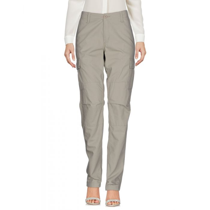Image for Military green cotton casual trousers