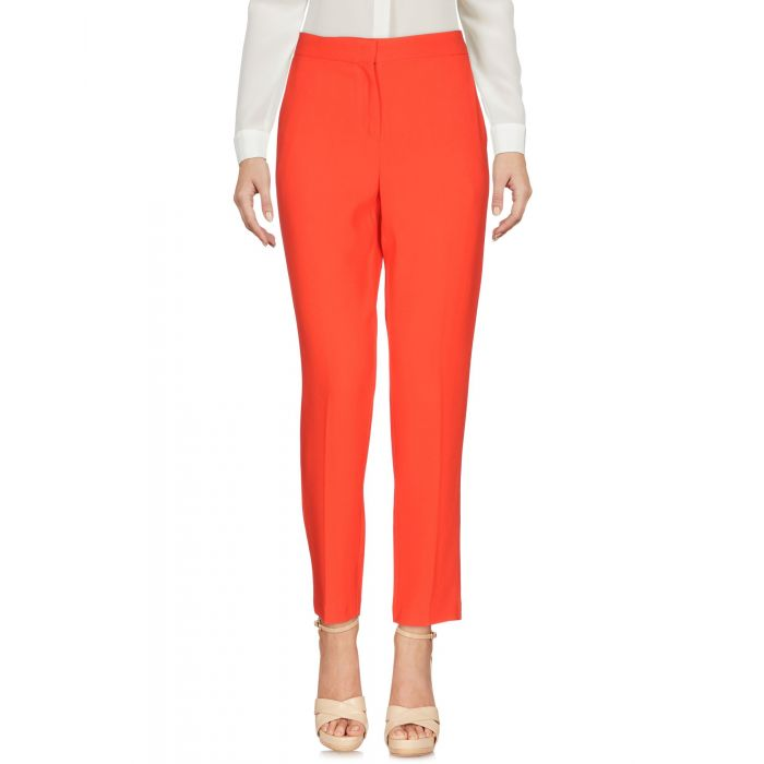 Image for Red slim fit trousers