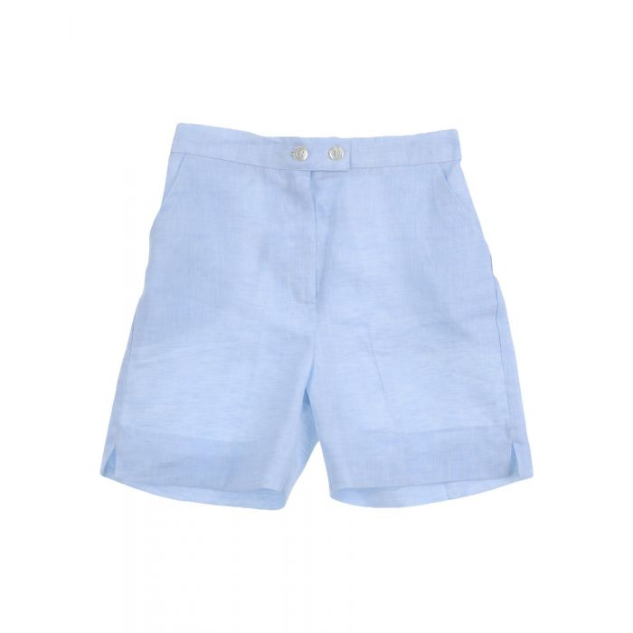 Image for Sky blue linen trousers