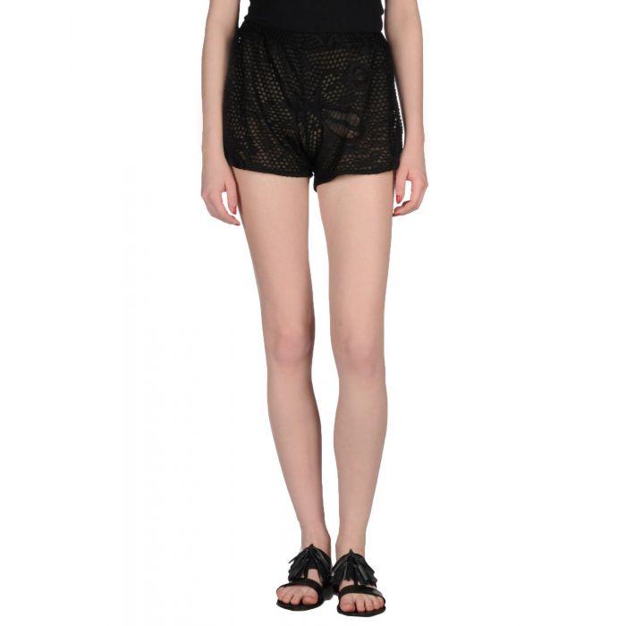 Image for Simona-A Woman Black Shorts