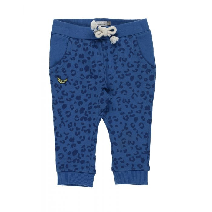 Image for Blue cotton casual trousers