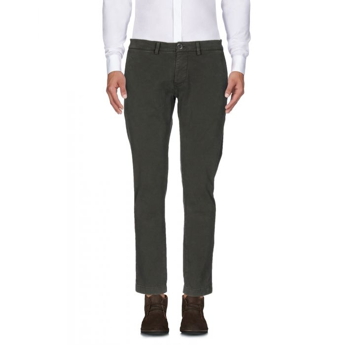 Image for Green tapered leg jeans
