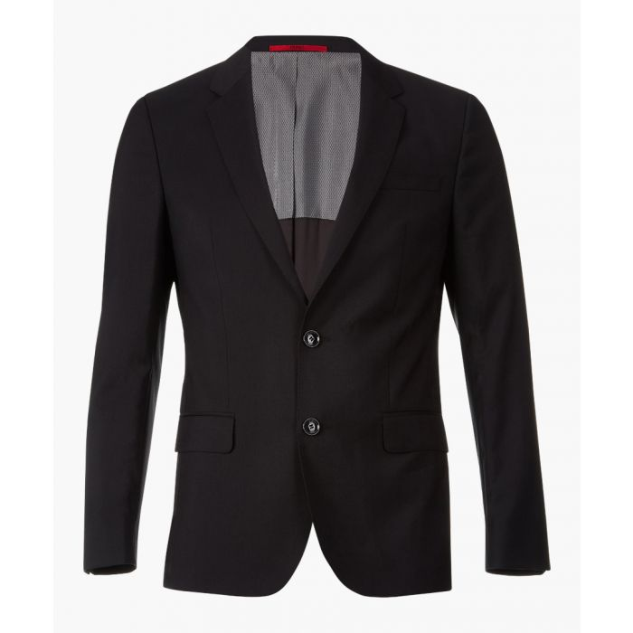 Image for Black virgin wool blazer