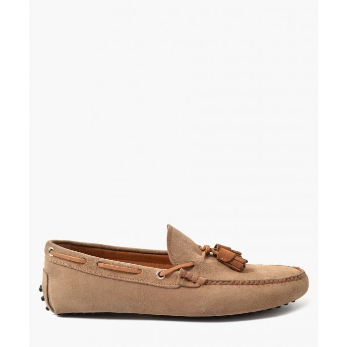 Image for Earth suede tassel moccasins