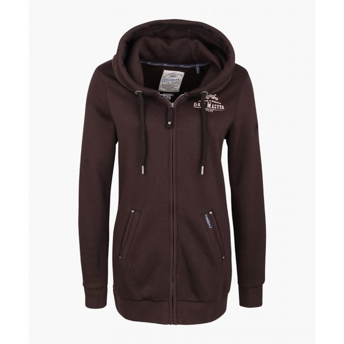 Image for Brown sweat jacket