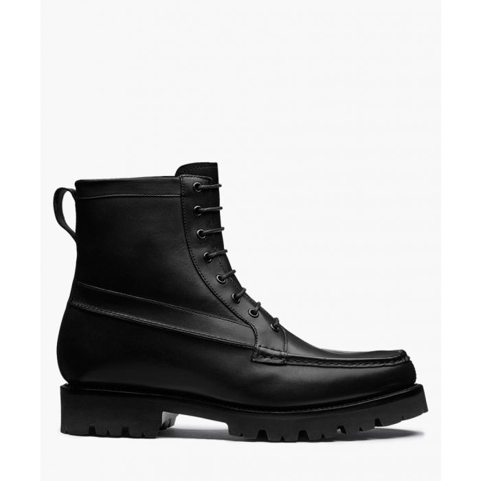 Image for Gulliver black calf leather boots