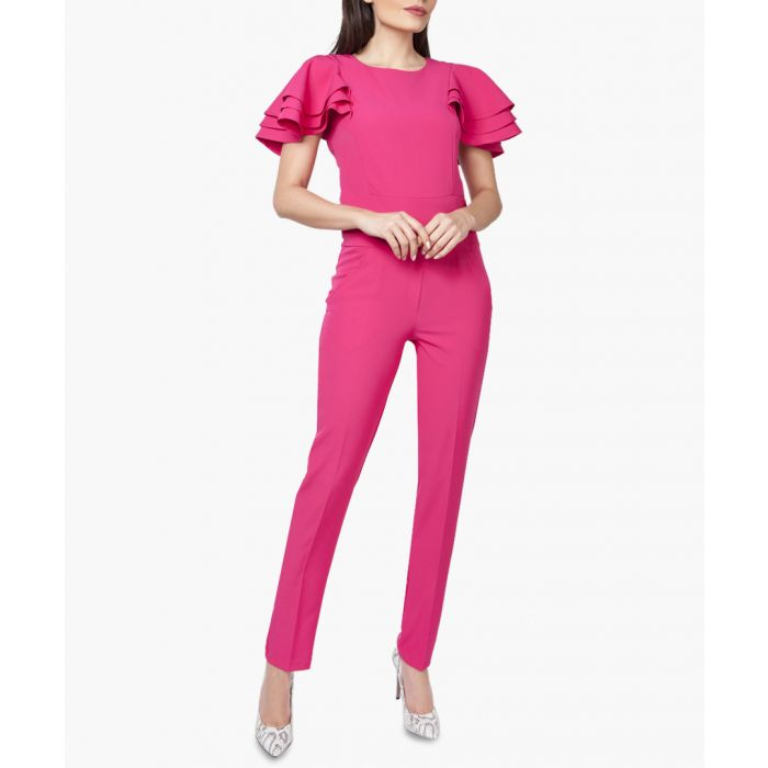 Image for Pink Woven Jumpsuit