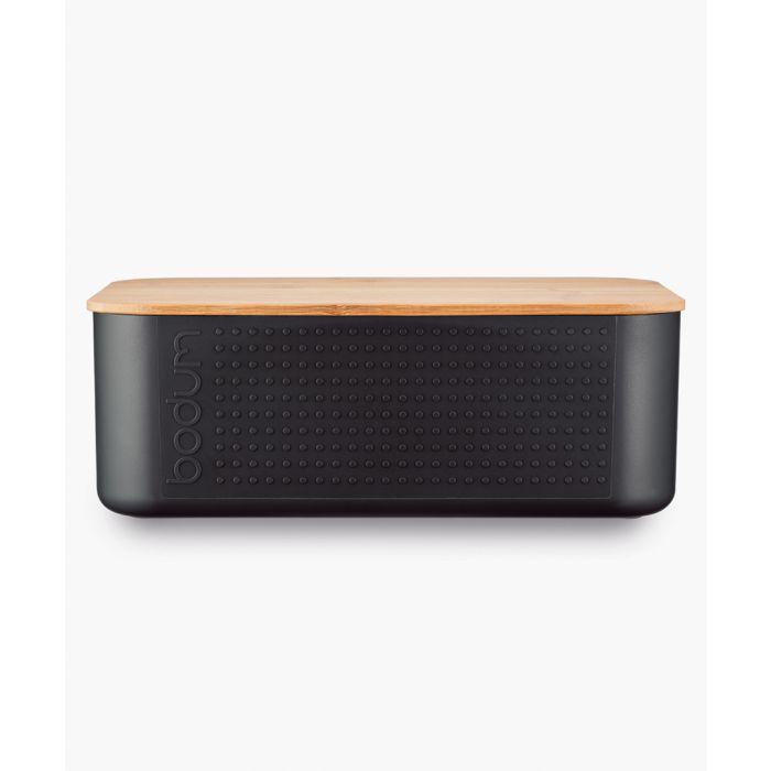 Image for Black small bread box