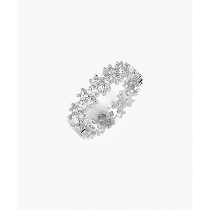 Image for Platinum and 2.5ct diamond garland full eternity ring