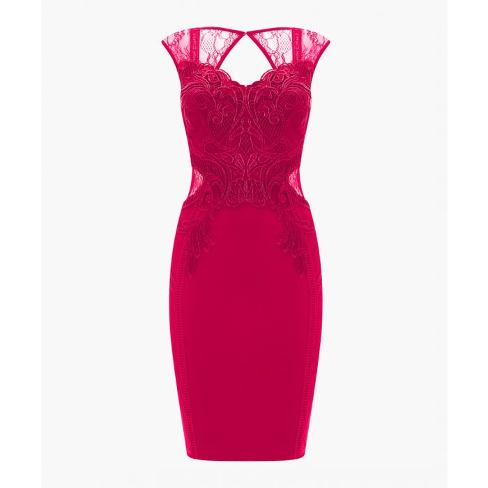 Image for Pink bodycon dress