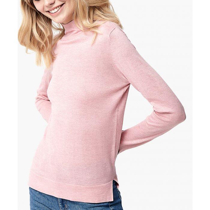 Image for Pink cashmere blend pullover