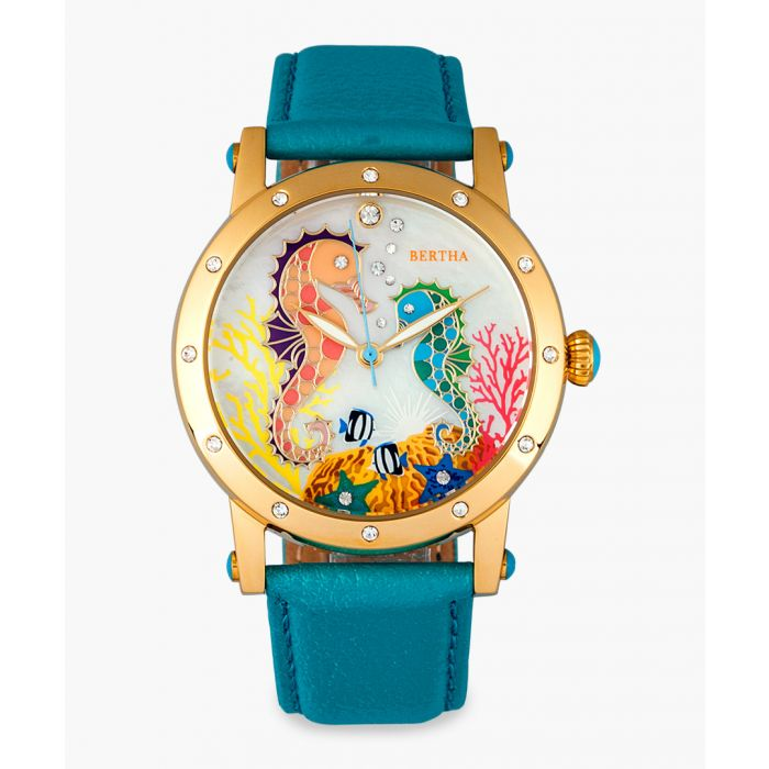 Image for Morgan turquoise watch