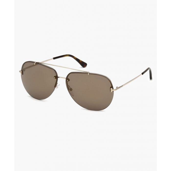 Image for Dark grey and Havana sunglasses