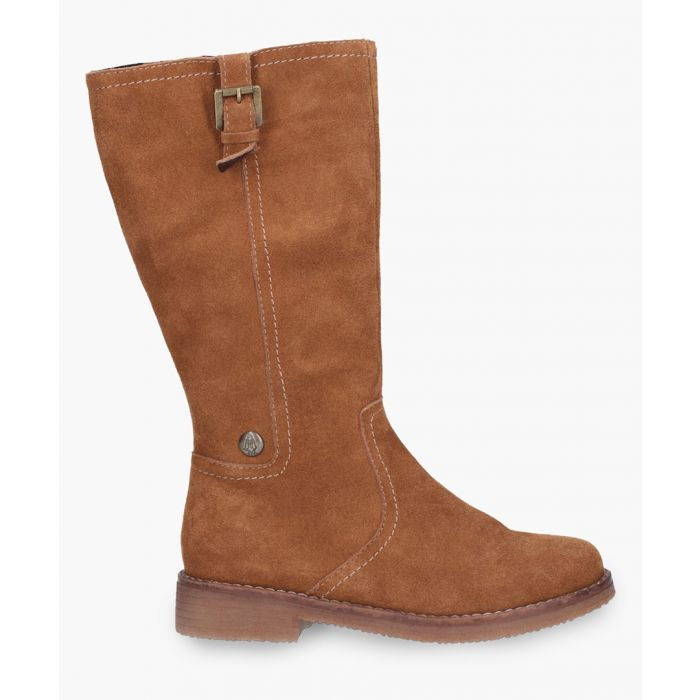 Image for Womens tan knee-high boots