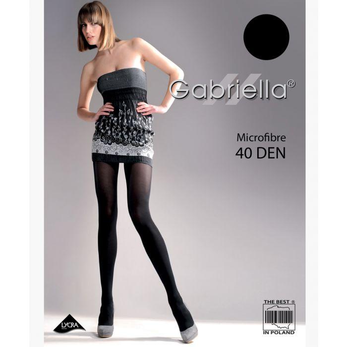 Image for Black 40 denier tights