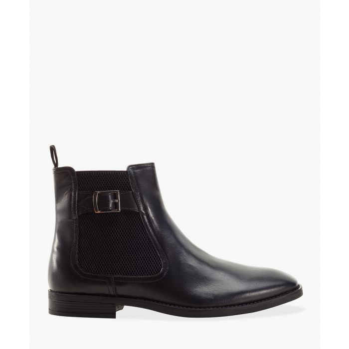 Image for Black rubber Chelsea boots