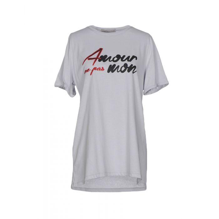 Image for Boutique De La Femme Woman Light grey T-shirts