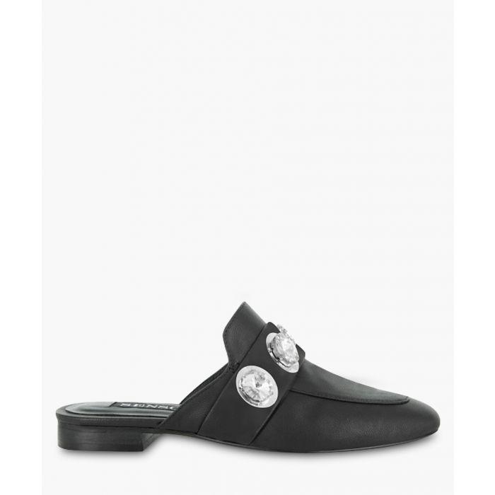 Image for Rio I black leather embellished mules