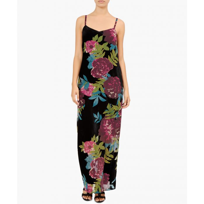 Image for Mable floral maxi slip dress