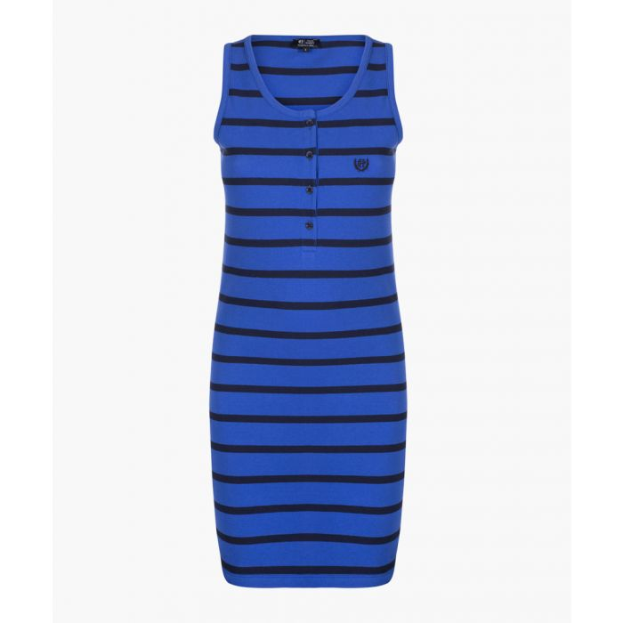 Image for Navy and sax dress