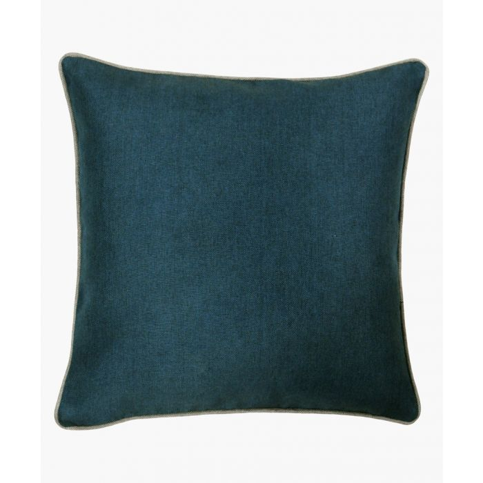 Image for Bellucci teal cushion