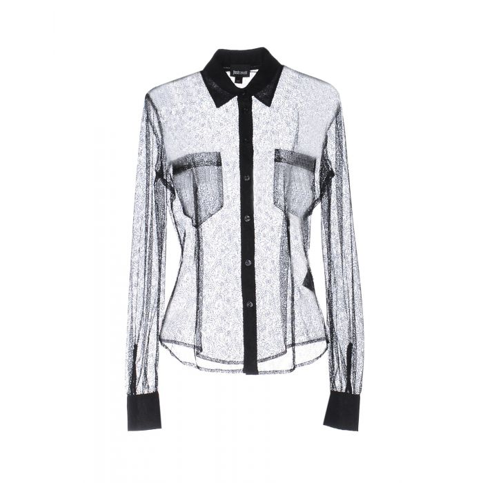 Image for Just Cavalli Black Polyamid Camicie