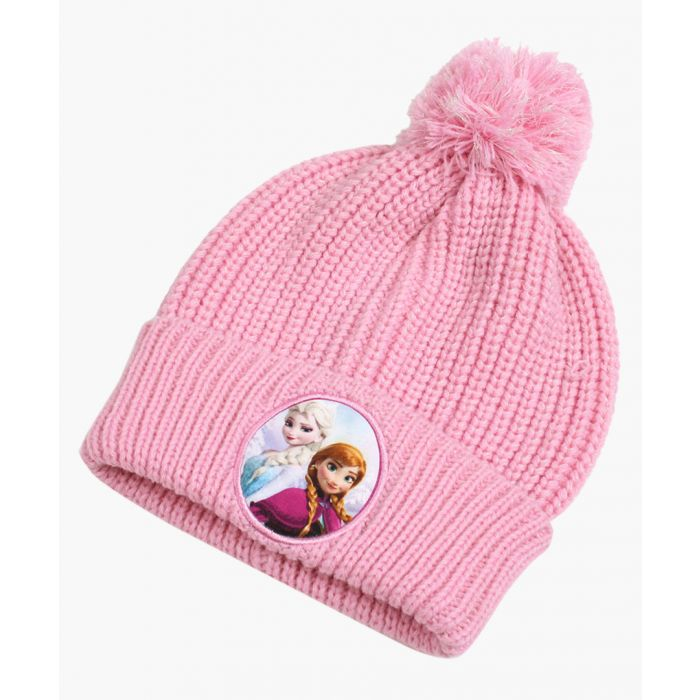 Image for Pink Frozen beanie