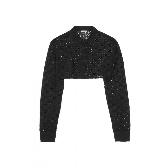 Image for Nina Ricci Black Cotton Camicie