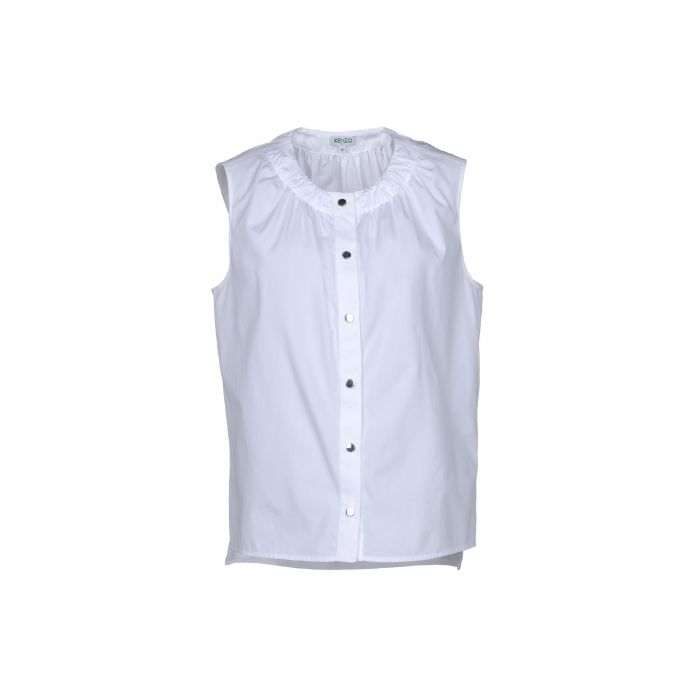 Image for White silk shirt