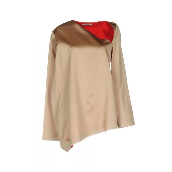 Image for Sand silk blouse