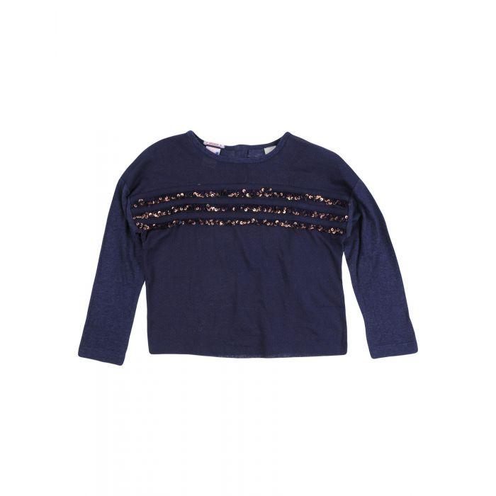 Image for Dark blue long sleeved top
