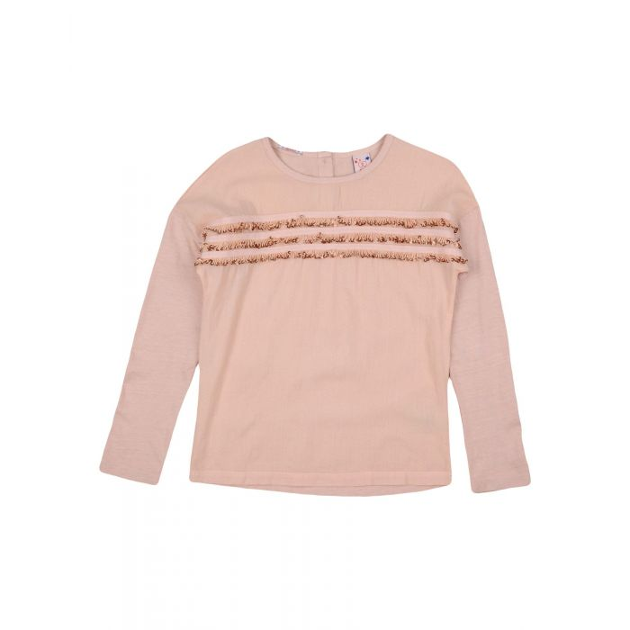 Image for Light pink ruffle top
