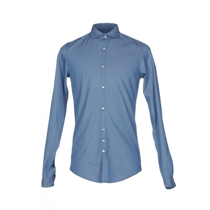 Image for Aglini Man Pastel blue Shirts
