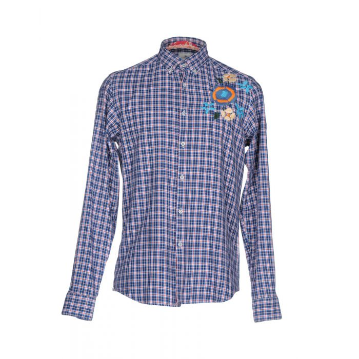 Image for Portofiori Man Blue Shirts