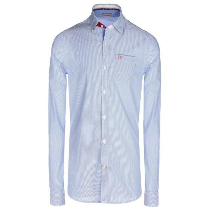 Image for Napapijri Man Sky blue Shirts