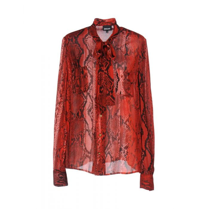 Image for Red viscose shirt