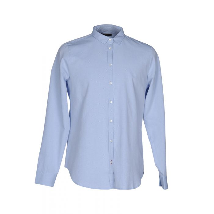 Image for True Nyc. Man Sky blue Shirts