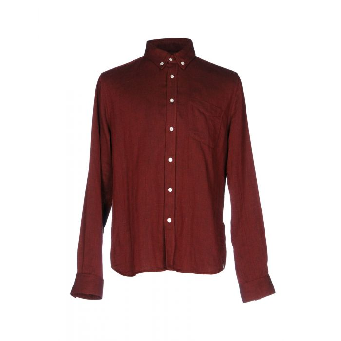 Image for Steven Alan Man Maroon Shirts