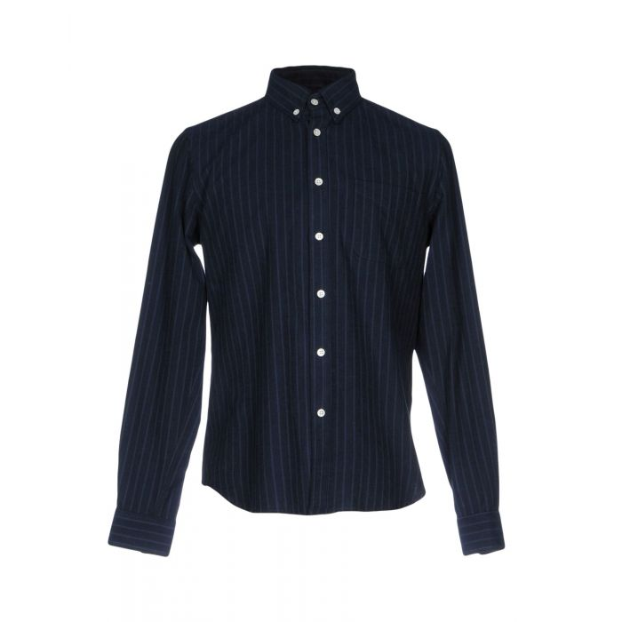 Image for Steven Alan Man Dark blue Shirts