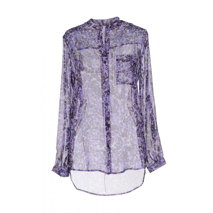 Image for Purple silk shirt